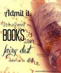 books and fairy dust